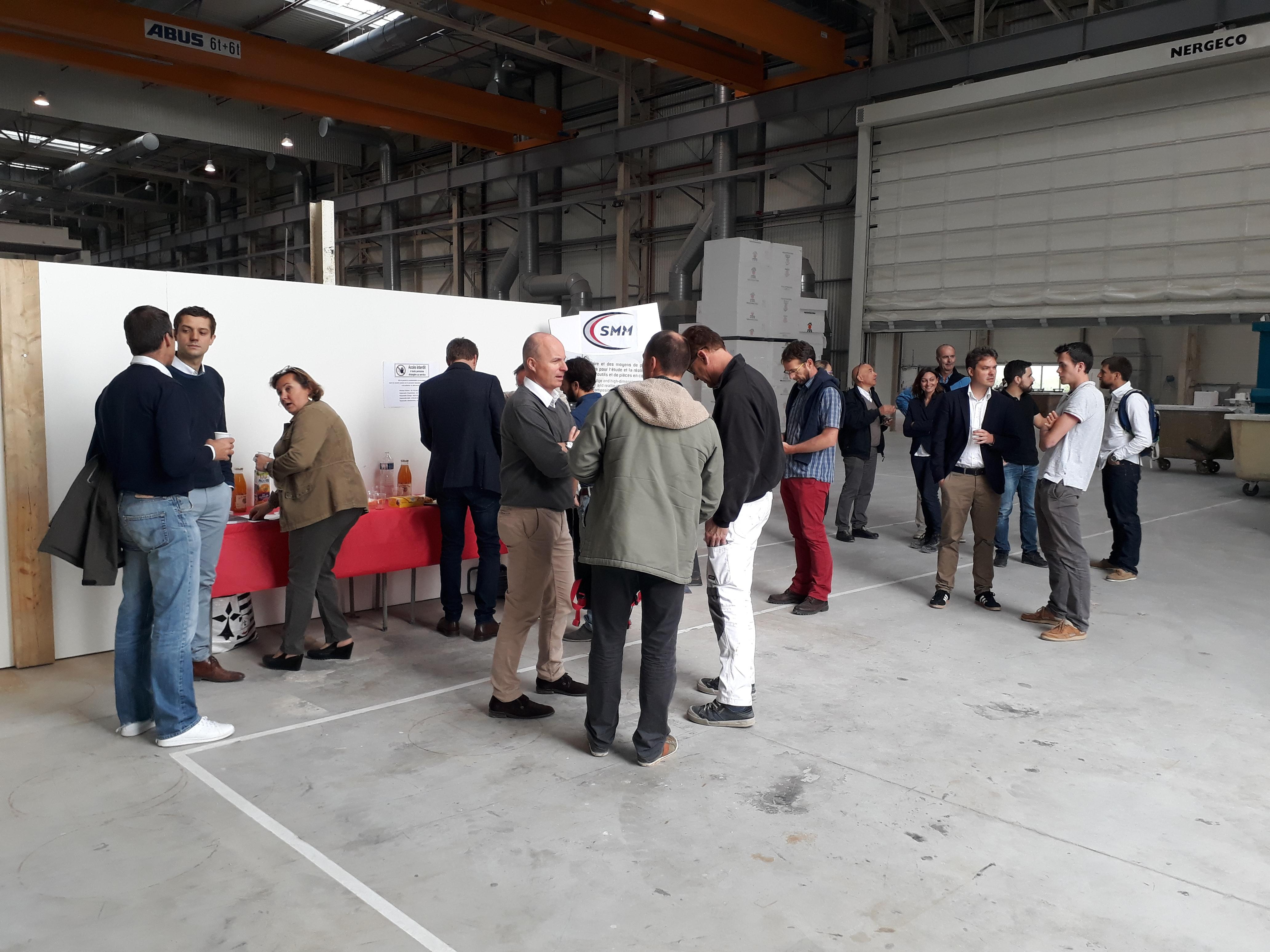 Visite des 6 500 m² d'atelier chez SMM
